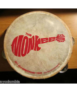 NEW Monkees TAMBOURINES Size 8 Inch CP Brand Single Row Jingles Calf Ski... - $29.70