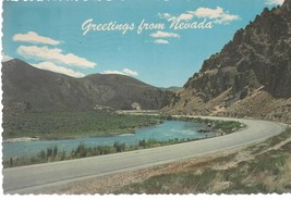 Greetings From Nevada (vintage 1970s) postcard - $4.00