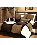 Smore's Queen size 7-Piece Comforter Set - $160.00