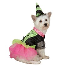 Zack & Zoey Witchy Business Costume for Dogs, Small, Green - $34.95