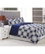 300 Thread Count Cotton Casey Duvet Cover Set - $115.00