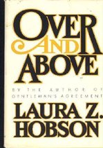 Over and above [Jan 01, 1979] Hobson, Laura Keane Zametkin - $16.82