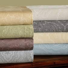 600 Thread Count Italian Paisley Duvet Cover Sets