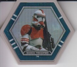 Shock Trooper 2016 Topps Star Wars Galactic Connexions Common Gray Foil Disc - $1.50
