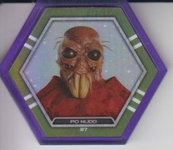 Po Nudo 2016 Topps Star Wars Galactic Connexions Ultra Rare Purple Disc - $5.00