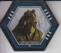 Captain Tarpals 2016 Topps Star Wars Galactic Connexions Uncommon Black Disc - $0.99