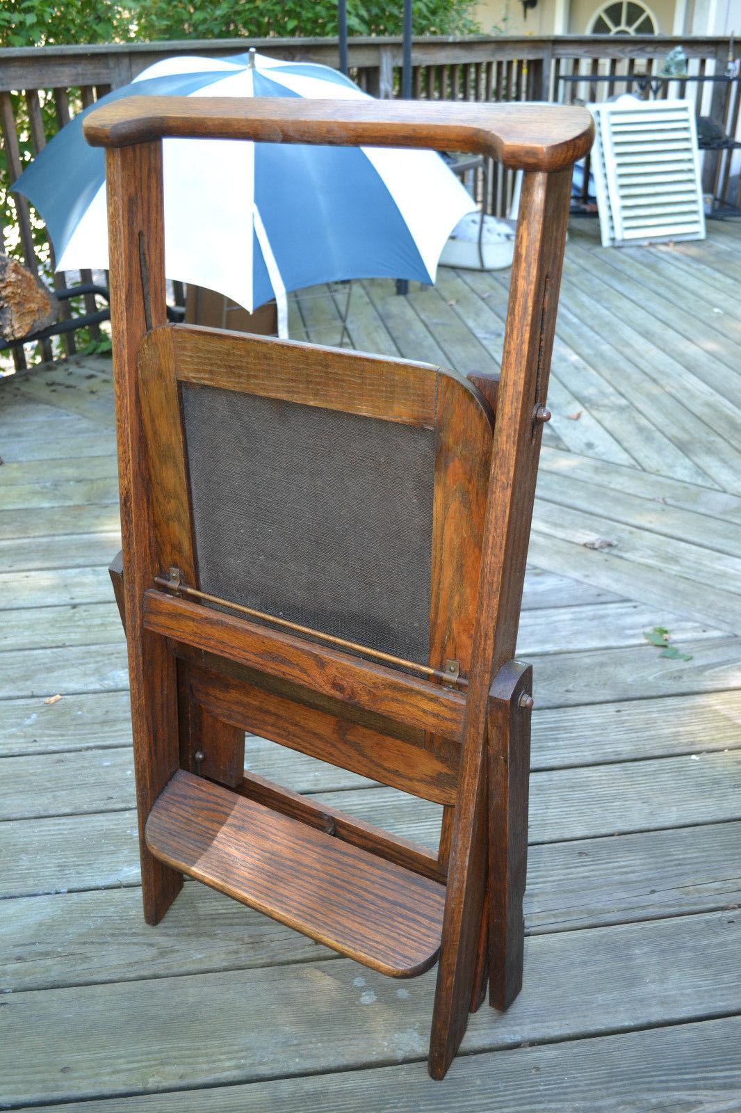 antique cosco step stool