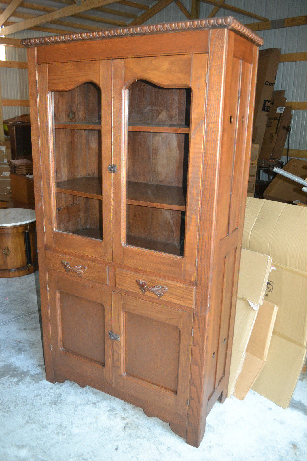 Wood Pie Safe Jelly Cupboard Cabinet And 44 Similar Items