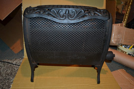 Ornate Victorian Vtg Antique Primitive Pierced Lawson Room Heater Cast I... - $186.86