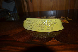 Vintage Frankoma Pottery Plainsman Display Sign Desert Gold  - $33.45