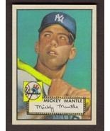 MICKEY MANTLE Rookie Card RP #311 aged Yankees RC 1952 T 2 Free Shipping - $3.00