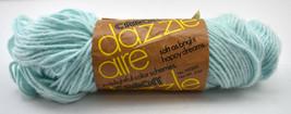 Vintage Caron Dazzleaire 4-Ply Acrylic/Nylon Yarn - 1 Skein Color Aqua #2640  - $11.35
