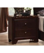 Coaster Furniture Nightstand - Conner Collection - Cappuccino Finish - $138.00