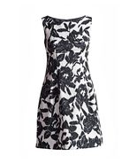 Conquista Designer Floral Empire Line Dress - $175.00