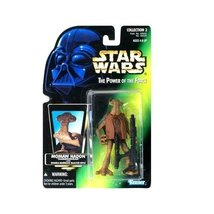 Star Wars: Power of the Force Green Card Momaw Nadon (Hammerhead) Action... - $8.99