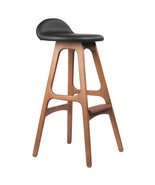 ERIK BUCH OD MOBLER INSPIRED TEAK BAR STOOL - $360.83