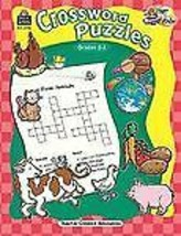 Start to Finish - Crossword Puzzles, Grades 2-3 paperback workbook word ... - $6.76