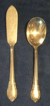 Remembrance Silverplate 1948 1847 Rogers Bros Is **Butter Knife & Sugar Spoon - $7.61