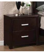 Coaster Furniture Nightstand - Andreas Collection - Cappuccino Finish - $131.00