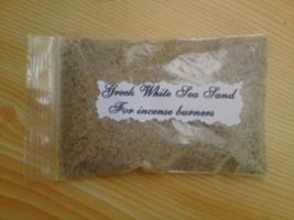 Greek White Sea Sand To Protect Ceramic Incense Burners.  - $7.77