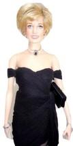 "Franklin Mint Diana Princess of Glamour 16"" Vinyl Doll Divorce Cocktail ... - $135.95"