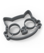 1pc Kitchen Silicone Cats Egg Shaper Fried Eggs Mould Cute LS - £6.65 GBP