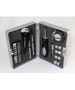 20 Pc Handyman Tool Kit ~ Hard Shell Plastic Case, Home, Travel, Office ... - $19.55