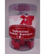 Williams Sonoma Valentine's  Cookie Cutters Set of 8 Heart Cupid Dove 20... - $17.21