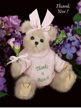 """Bearington Bears """"Gracie Grateful"""" 10"""" Collector Bear- Sku #1715- 2006 - $24.99"""