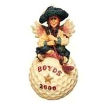 """Boyds Folkstone Ornament """"Birdie...Fore!""""-  Year 2000 Ornament-  #25661* 1E*NIB - $14.99"""