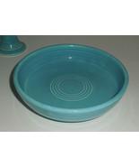 Vintage Fiesta Dessert Bowl in Turquoise - in E... - $29.00