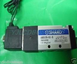 NEW SHAKO AM520-01-S AC220V electromagnetic valve  90 days warranty - $69.35