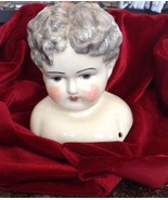 "20"" Porcelain Doll Head Vintage - $24.75"