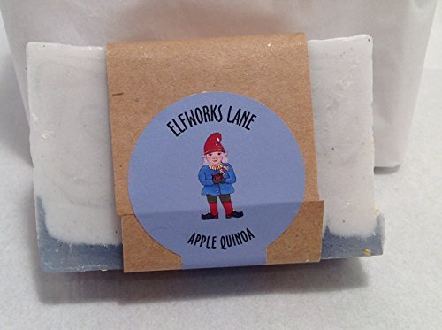 Apple Quinoa Small Batch Luxury Gourmet Vegan Soap 4 Ounce
