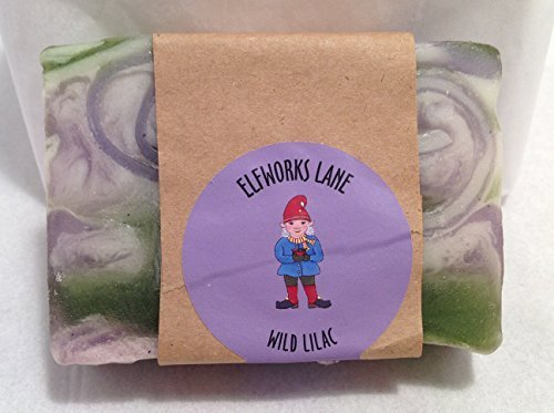 WIld Lilac Small Batch Luxury Gourmet Vegan Soap 4 Ounce