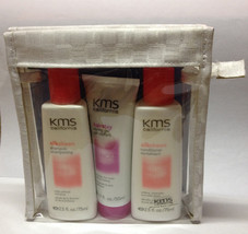 Kms California Silksheen Shampoo Condioner Hairstay Gel Travel Kit - $13.85