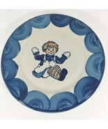 """Raggedy Ann Louisville Stoneware Pottery Dinner Plate 9 1/4"""" NEW Made in... - $33.81"""