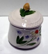 Vintage Ceramic Jam Pot // Mustard Pot // Marmalade // Sugar Pot - $10.00