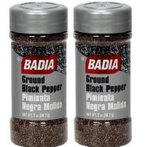 Badia Ground Black Pepper Seasoning 2 Bottle Pack - $14.80