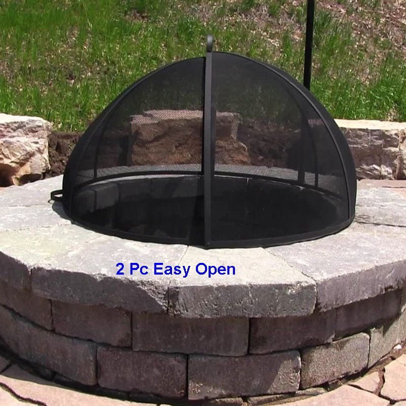 Replacement Fire Pit Metal Spark Screen Cover Lid 1921 22 ...