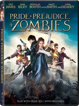 Pride + Prejudice + Zombies (2016) DVD