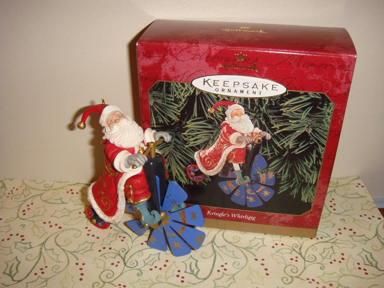 Primary image for Hallmark 1999 Kringle's Whirligig Ornament