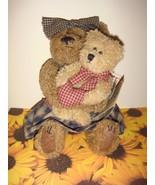 Boyds Bear Momma McBear & Cedric  - $21.99