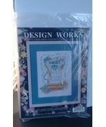 "Vintage Design Works ""Doorways""  Counted Cross Stitch Kit  #1067 9 x 12""... - $8.15"