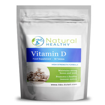 VITAMIN D3 TABLETS FOR STRONG BONES, TEETH IMMUNE SYSTEM ALL AROUND GOOD... - $3.98+