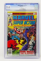 Marvel Comics 1977 Marvel Super Action #2 CGC 9.4 Near Mint  - $237.49