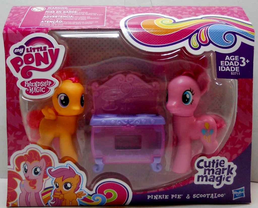 Primary image for Pinkie Pie and Scootaloo Bake Set exclusive Cutie Mark Magic