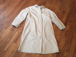 Vintage London Fog by Reeves Women's Khaki Tan Trench Coat Jacket Sz 8 P... - $70.11