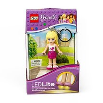 LEGO Friends Stephanie Keychain Light - 2.75 Inch Perfect for Backpacks,... - $9.86