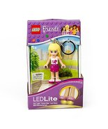 LEGO Friends Stephanie Keychain Light - 2.75 Inch Perfect for Backpacks,... - $4.93